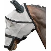 Harry's Horse - Vliegenmasker B-free - Wit – L