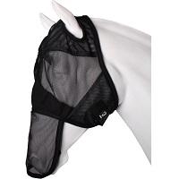 Horka Vliegenmasker Full Face Pony Soft-mesh Zwart