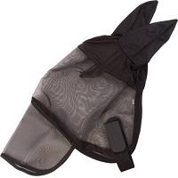 Imperial Riding Vliegenmasker - Met Neusflap - Zwart – Full