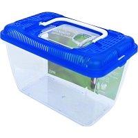 Boon Plastic Aquarium met blauwe deksel - 2,3 liter