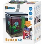 10. SuperFish Aquarium Betta 8 set zwart