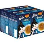 10. Felix Soup Vis Selectie - 24 x 48 g