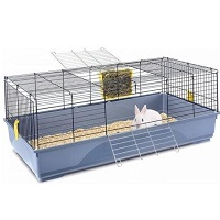 Imac konijnenkooi easy blauw