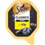 3. Sheba Classics Paté Kuipje - Kip - 22 x 85g