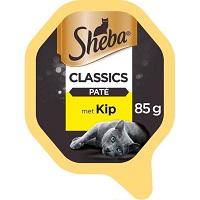 Sheba Classics Paté Kuipje - Kip - Kattenvoer - 22 x 85g